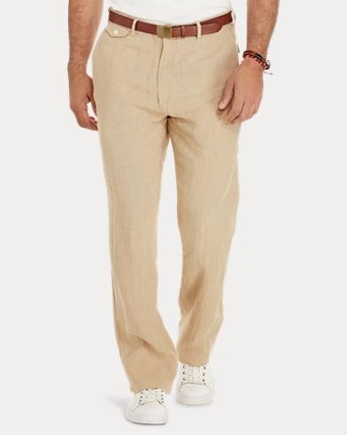 Classic-Fit Linen Pant