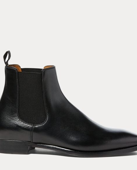 Galen Burnished Calfskin Boot