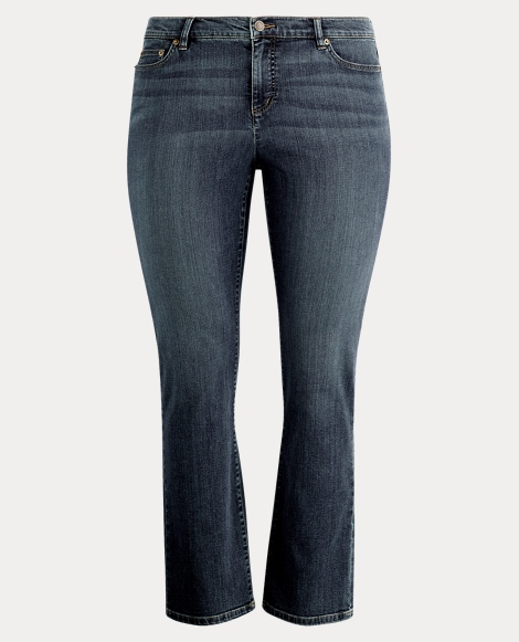 Super-Stretch Straight Jean