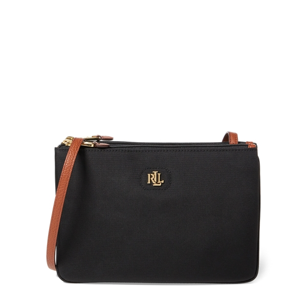 Ralph Lauren Nylon Tara Crossbody Bag Black One Size