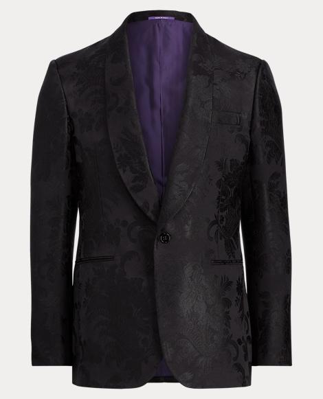 Silk Jacquard Dinner Jacket
