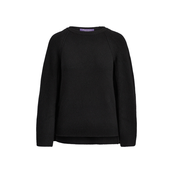 Ralph Lauren Cashmere Sweater Cape Black M
