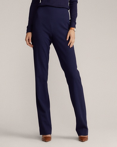 Alandra Stretch Wool Pant