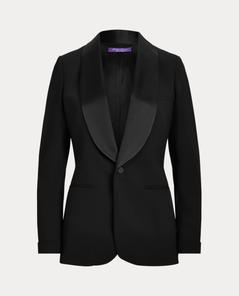 Sawyer Wool Tuxedo Jacket