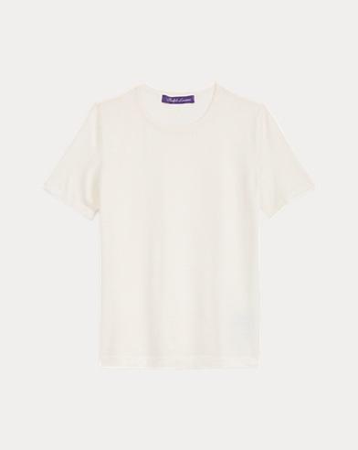 Merino Short-Sleeve Sweater