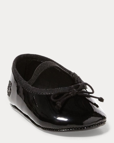 Allie Faux-Leather Ballet Flat