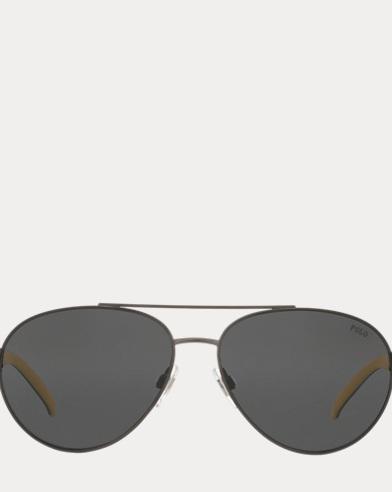 Polo Aviator Sunglasses