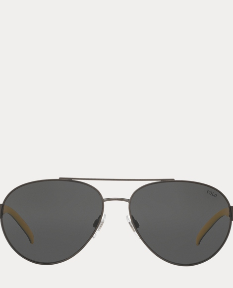 Polo Aviator Sunglasses