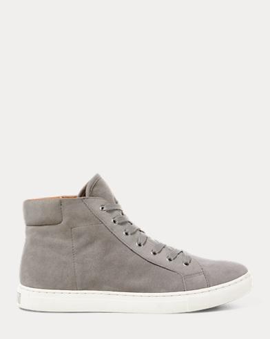 Dree Suede High-Top Sneaker
