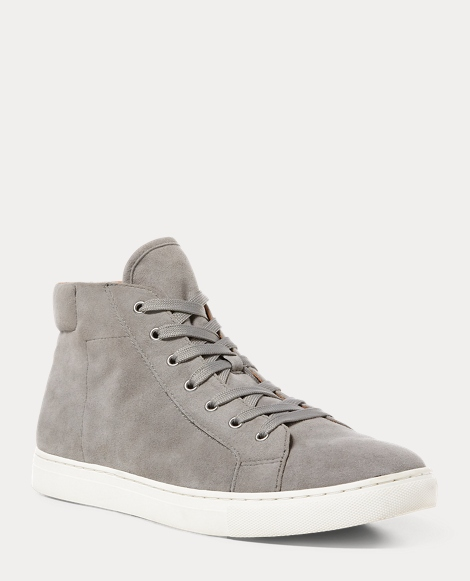Dree Suede High-Top Sneaker