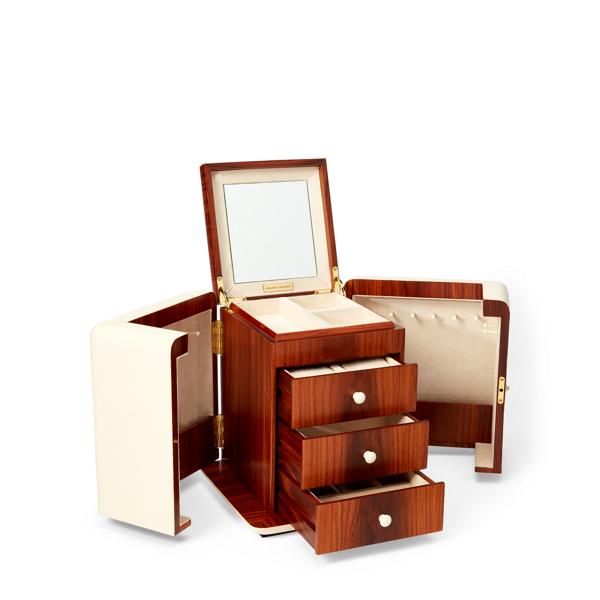 Delmere Shagreen Jewelry Box Jewelry Boxes Storage Home Ralph