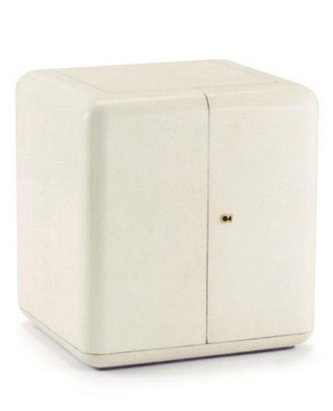 Delmere Shagreen Jewelry Box