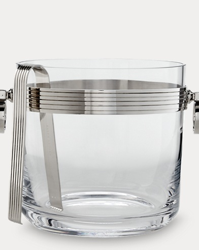Bentley Ice Bucket & Tongs