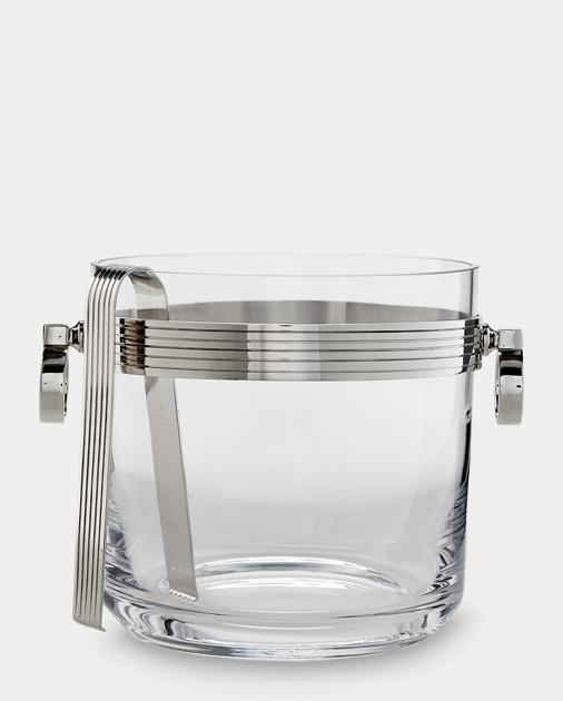 Bentley Ice Bucket & Tongs