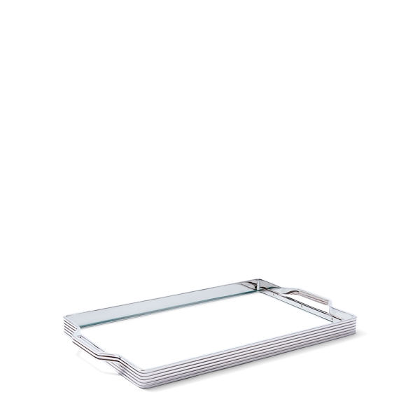 Ralph Lauren Bentley Glass Tray Clear One Size