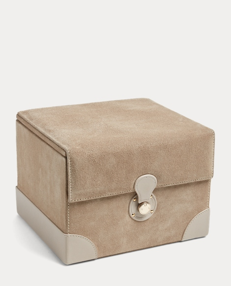 Brooke Suede Jewelry Box