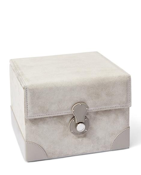 Brooke Suede Jewelry Box