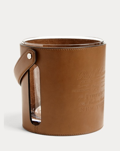 Cantwell Leather Ice Bucket