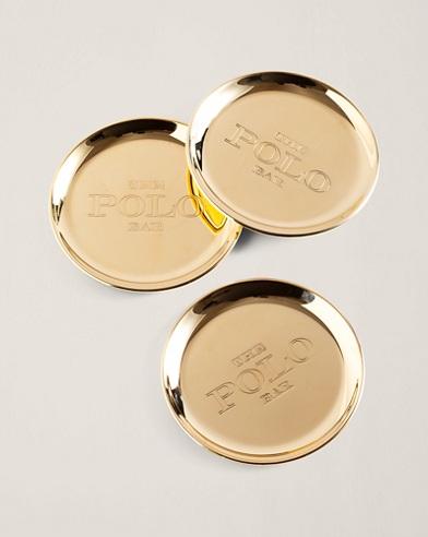 Kipton Brass Bottle Coaster