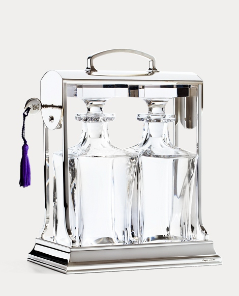 Ogden Crystal Decanter Caddy