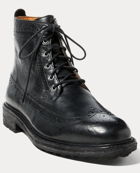 Nickson Wingtip Leather Boot