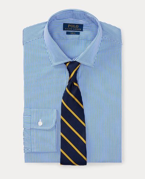 Slim Fit Cotton Dress Shirt