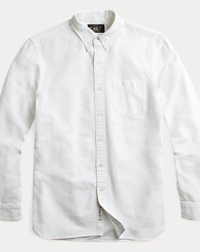 Selvedge Cotton Oxford Shirt
