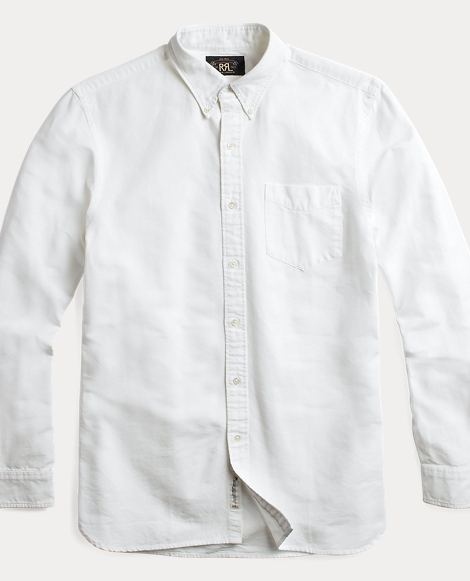 Selvedge Cotton Oxford Shirt