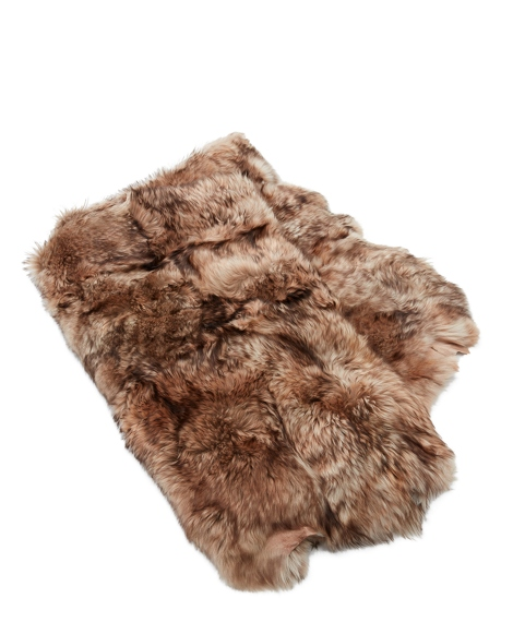 Crestone Shearling Throw