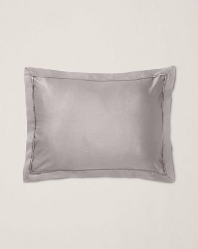 Grey Bedford Throw Pillow
