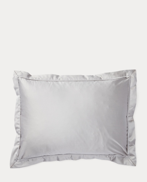 Grey Bedford Throw Pillow