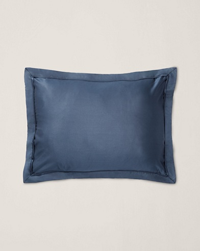 Bedford Navy Throw Pillow