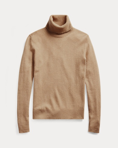 Slim Fit Cashmere Turtleneck
