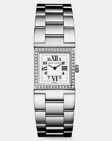 Petite Steel Diamond Bracelet