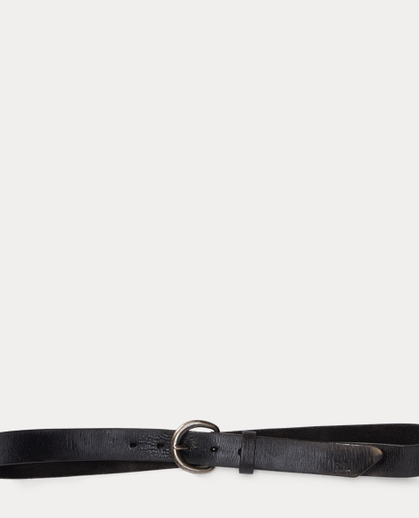 Terrance Tumbled Leather Belt