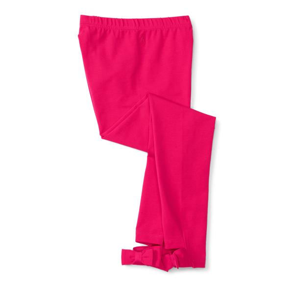 Ralph Lauren Bow-Back Jersey Legging Sport Pink S