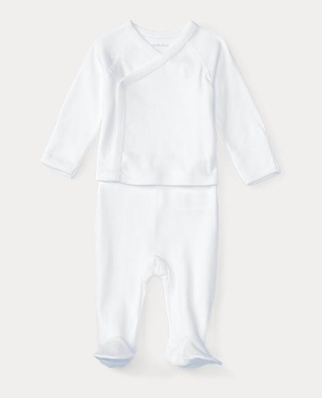 Cotton Kimono 2-Piece Set