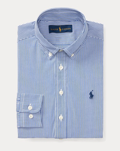 Custom Fit Stretch Dress Shirt