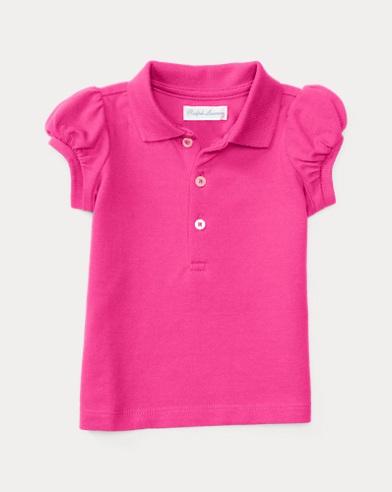 Baby Girl Polo Bear Shirt