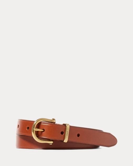 produt-image-0.0. produt-image-1.0. Women Accessories Belts Skinny Vachetta  Stirrup Belt. Polo Ralph Lauren