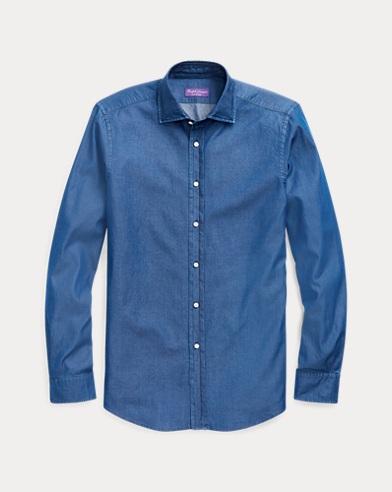 Cotton Chambray Sport Shirt