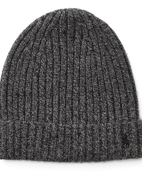 Ribbed Cashmere-Wool Hat