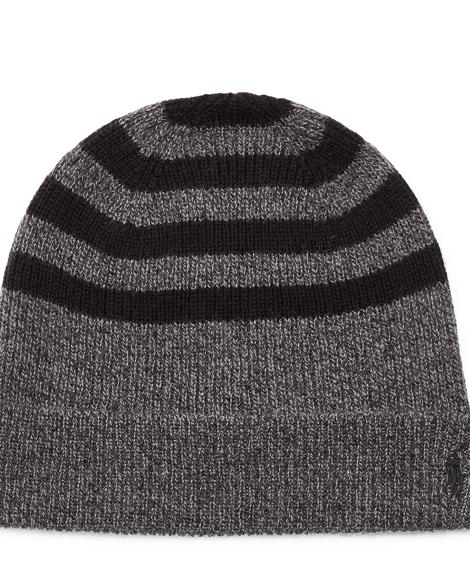 Rib-Knit Wool-Cashmere Hat