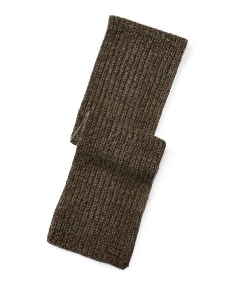 Rib-Knit Ragg Scarf