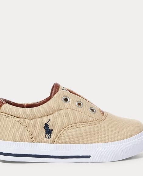 Vito Laceless Canvas Sneaker