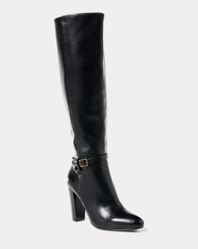 Valli Burnished Calfskin Boot