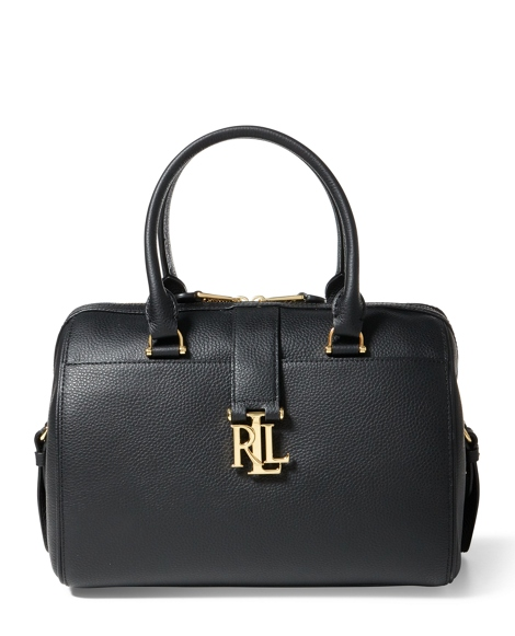 Pebble Leather Braelyn Satchel