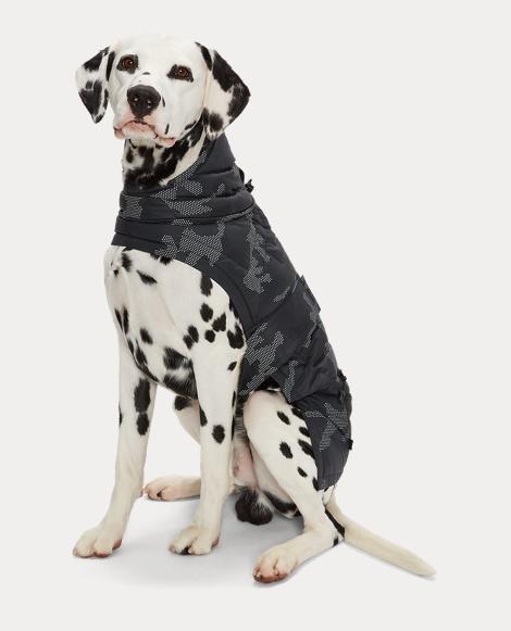 Reflective Camo Dog Coat