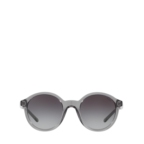 Ralph Lauren Rounded Sunglasses Gradient Grey One Size
