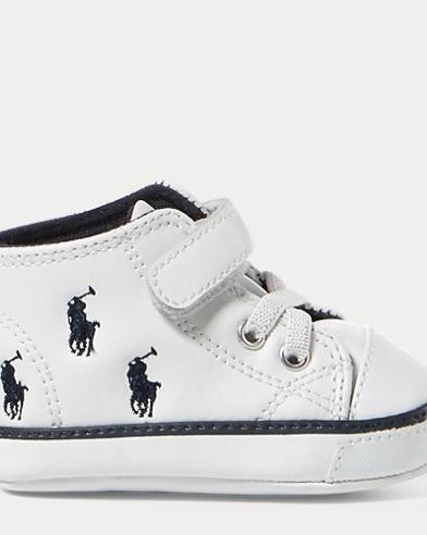 Kody Faux-Leather Mid Sneaker